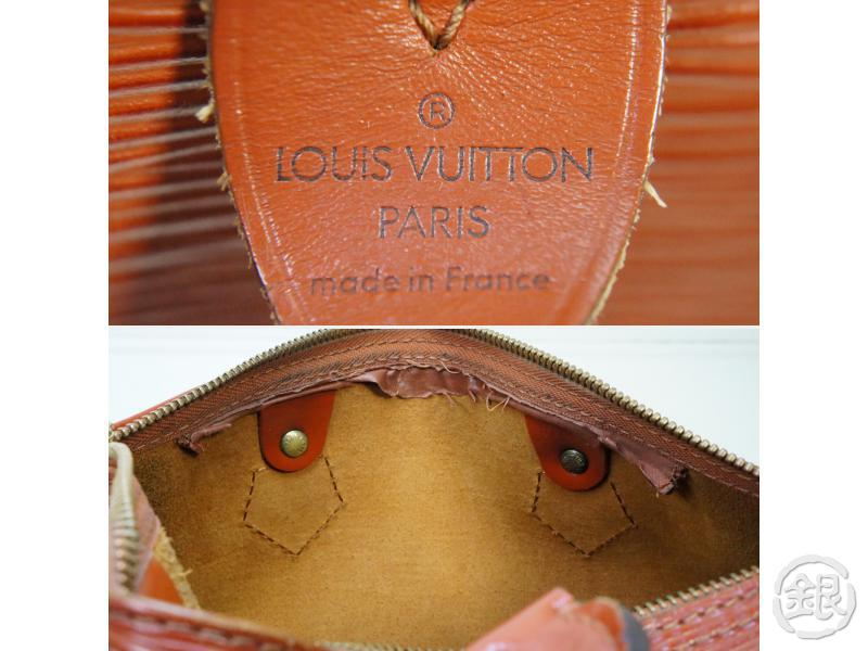 AUTHENTIC PRE-OWNED LOUIS VUITTON EPI KENYAN BROWN SPEEDY 25 DUFFLE HAND BAG PURSE M43013 182282