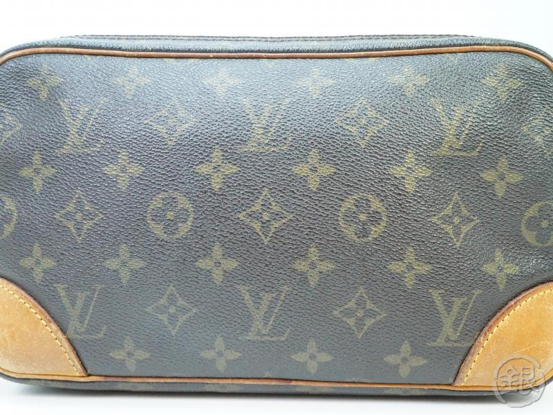 AUTHENTIC PRE-OWNED LOUIS VUITTON MONOGRAM POCHETTE MARLY DRAGONNE GM CLUTCH BAG M51825 182233