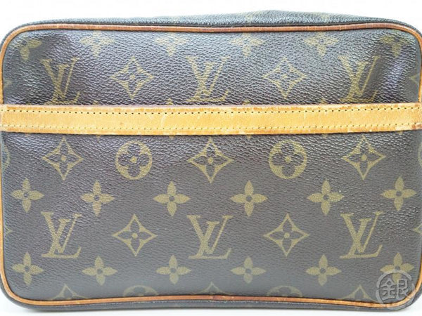 AUTHENTIC PRE-OWNED LOUIS VUITTON MONOGRAM POCHETTE COMPIEGNE 23 PM POUCH CLUTCH BAG M51847 182178