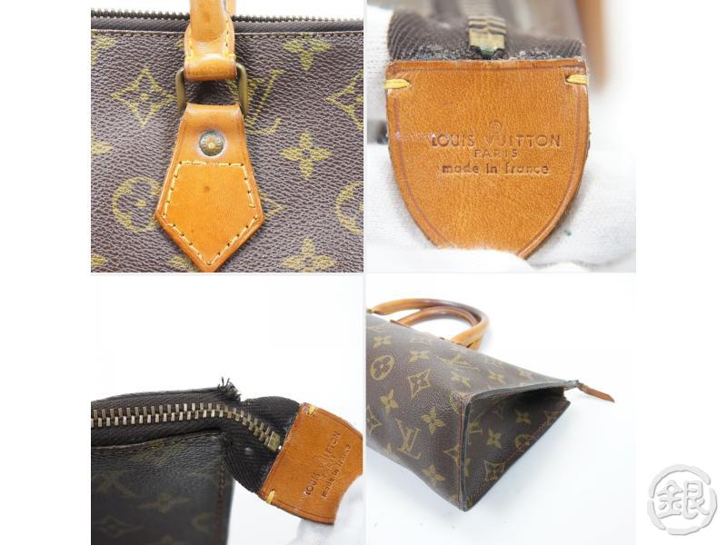 AUTHENTIC PRE-OWNED LOUIS VUITTON VINTAGE MONOGRAM SAC TRICOT TRIANGLE KNITTING NO.76 M51360 143553