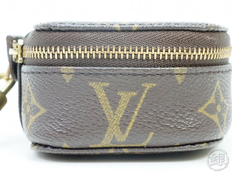AUTHENTIC PRE-OWNED LOUIS VUITTON MONOGRAM POCHE MONTE-CARLO PM JEWELRY CASE BOX M47352 182391