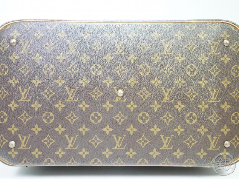 AUTHENTIC PRE-OWNED LOUIS VUITTON VINTAGE MONOGRAM SAC SPORT SOFT LUGGAGE BAG M41444 181091