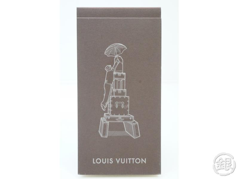 AUTHENTIC PRE-OWNED LOUIS VUITTON VIP Limited NOVELTY FLIP-BOOK tour Eiffel MEMO PAD M99237 182428