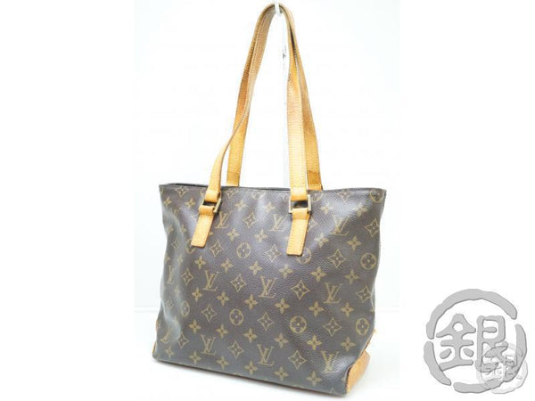 AUTHENTIC PRE-OWNED LOUIS VUITTON MONOGRAM CABAS PIANO SHOULDER TOTE BAG PURSE M51148 190183