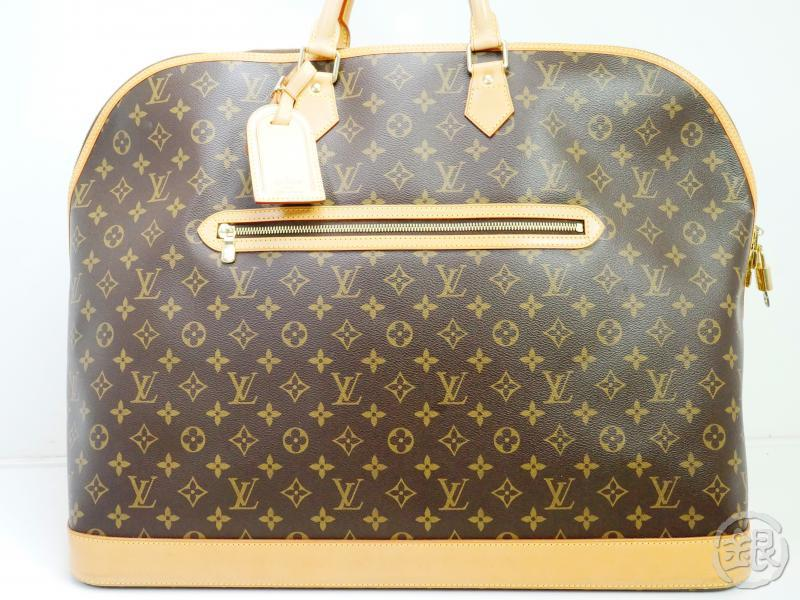 AUTHENTIC PRE-OWNED LOUIS VUITTON LV MONOGRAM ALMA VOYAGE GM TRAVELING DUFFLE BAG M41445 160996