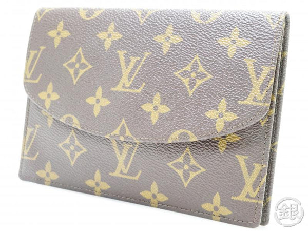 AUTHENTIC PRE-OWNED LOUIS VUITTON VINTAGE MONOGRAM POCHETTE RABAT 17 CLUTCH BAG PURSE No. 179 190181