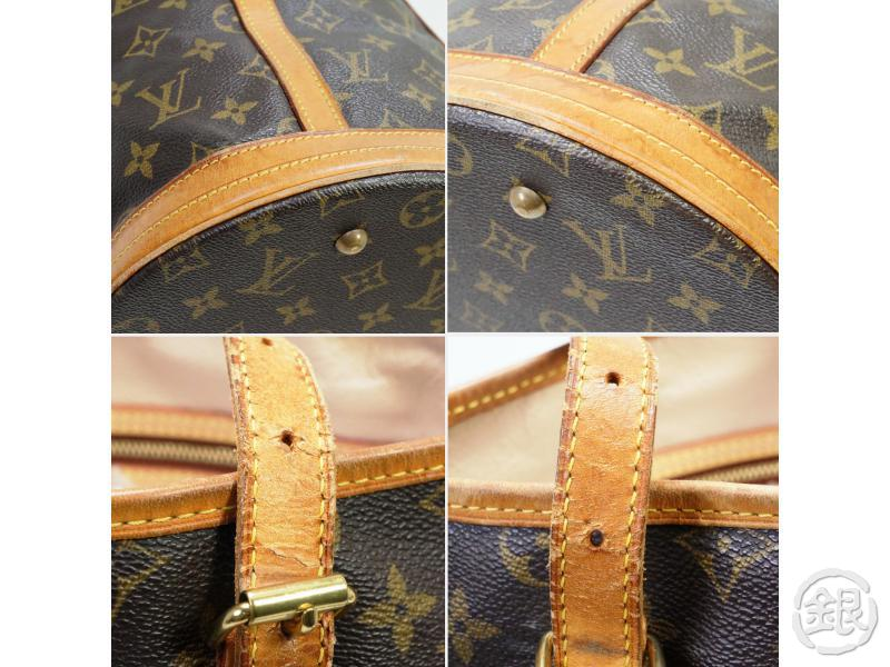 AUTHENTIC PRE-OWNED LOUIS VUITTON LV MONOGRAM LARGE BUCKET GM SHOULDER TOTE BAG M42236 190209