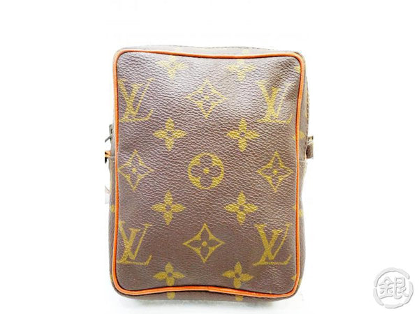 AUTHENTIC PRE-OWNED LOUIS VUITTON MONOGRAM MINI-POCHE VINTAGE MINI DANUBE BAG M45268 No. 202 190297