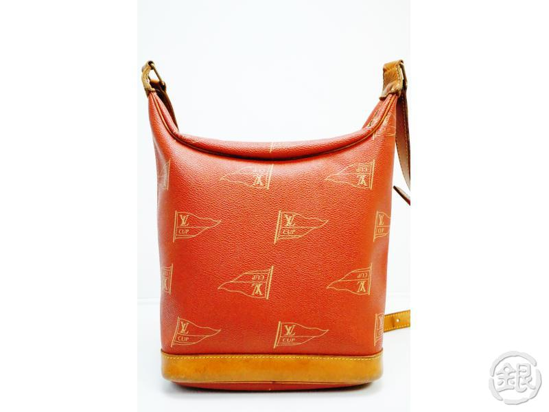 AUTHENTIC PRE-OWNED LOUIS VUITTON LIMITED EDITION LV CUP 95 LE TOUQUET SHOULDER BAG M80027 190377