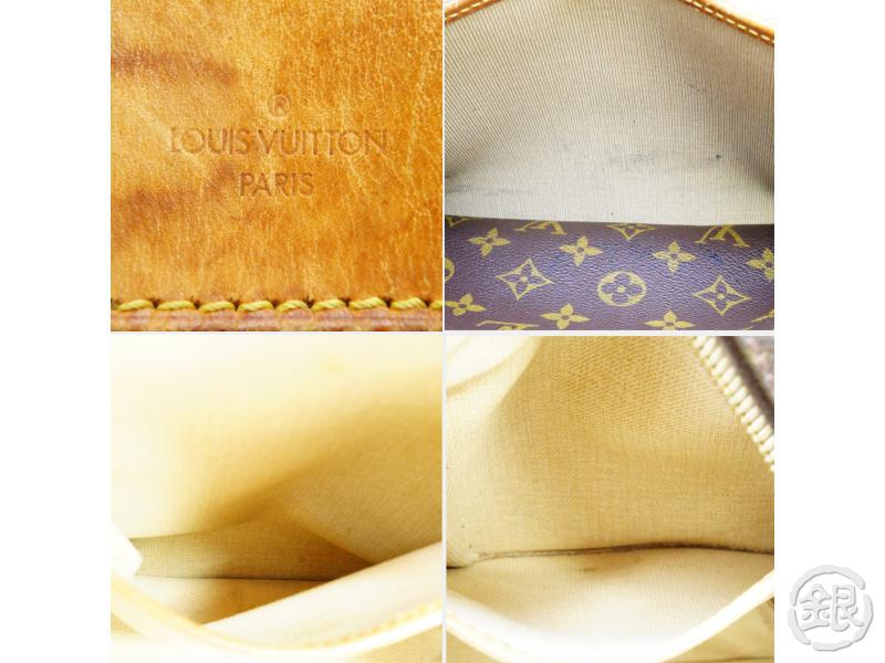 AUTHENTIC PRE-OWNED LOUIS VUITTON MONOGRAM DEAUVILLE COSMETIC CASE HAND BAG M47270 190365