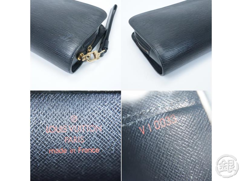 AUTHENTIC PRE-OWNED LOUIS VUITTON SPECIAL ORDERED EPI BLACK POCHETTE BAIKAL ORSAY BAG M51992 152640