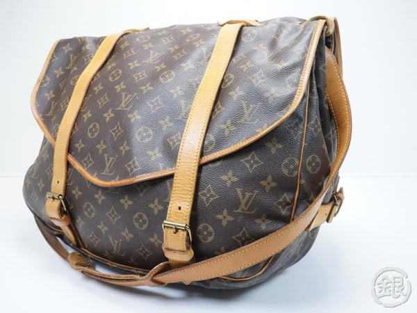 AUTHENTIC PRE-OWNED LOUIS VUITTON SAUMUR 43 COMPARTMENT MESSENGER CROSSBODY BAG M42252 153171