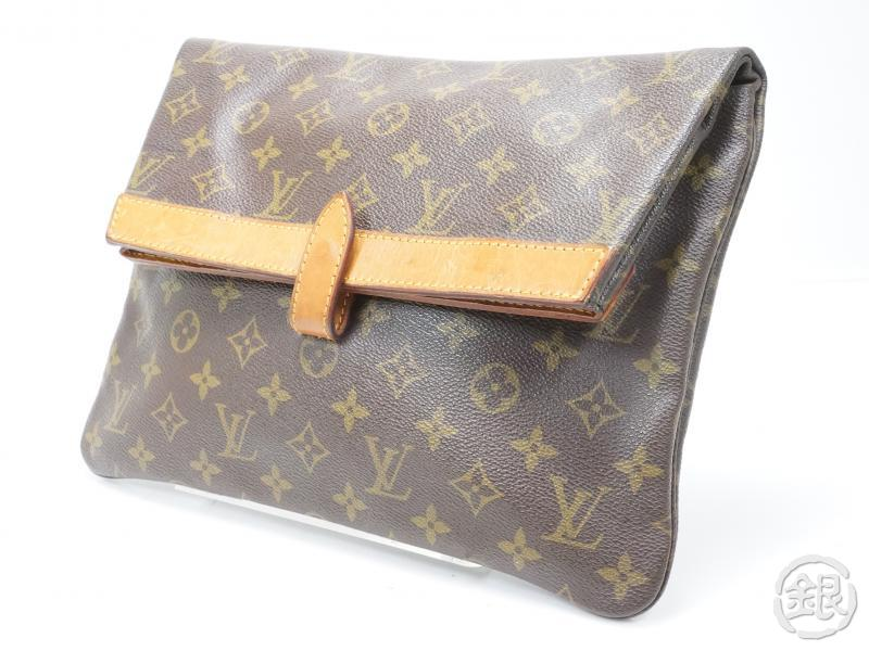 AUTHENTIC PRE-OWNED LOUIS VUITTON VINTAGE MONOGRAM POCHETTE PLIANTE CLUTCH BAG M51805 No.234 142914