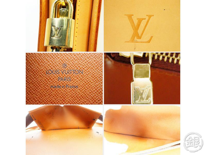 AUTHENTIC PRE-OWNED LOUIS VUITTON LIMITED NOMADE VACHETTA LEATHER BALTIC LAPTOP CASE M99071 161561