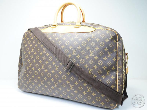 AUTHENTIC PRE-OWNED LOUIS VUITTON MONOGRAM ALIZE 2 POCHES 2-WAY COMPARTMENT TRAVEL BAG M41392 180888