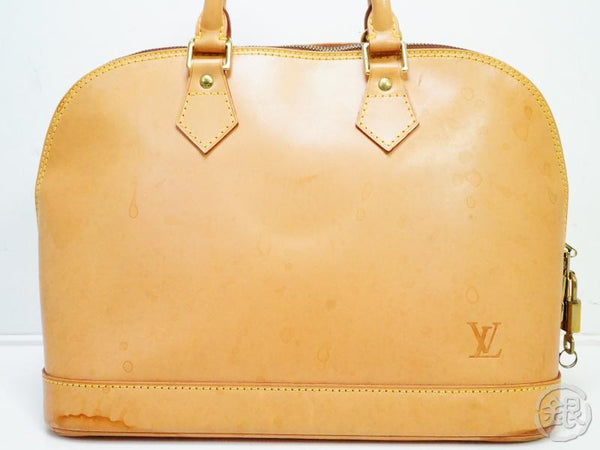 AUTHENTIC PRE-OWNED LOUIS VUITTON LV SPECIAL ORDERED NOMADE VACHETTA LEATHER ALMA BAG M85000 130887