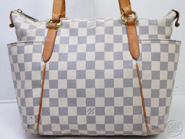 AUTHENTIC PRE-OWNED LOUIS VUITTON DAMIER AZUR TOTALLY PM SHOULDER TOTE BAG N51261 190477