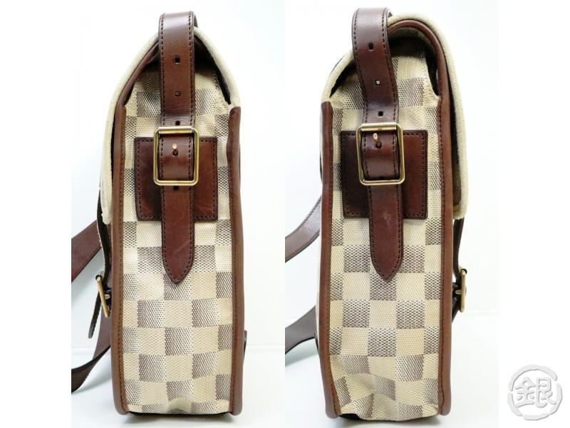 AUTHENTIC PRE-OWNED LOUIS VUITTON DAMIER LUNE TROTTEUR MESSENGER CROSSBODY BAG N48184 190408