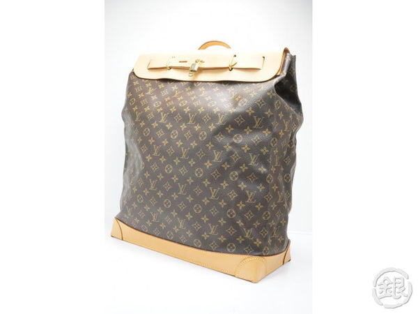 AUTHENTIC PRE-OWNED LOUIS VUITTON MONOGRAM STEAMER BAG 45 LARGE TRAVEL LUGGAGE BAG M41126 142796