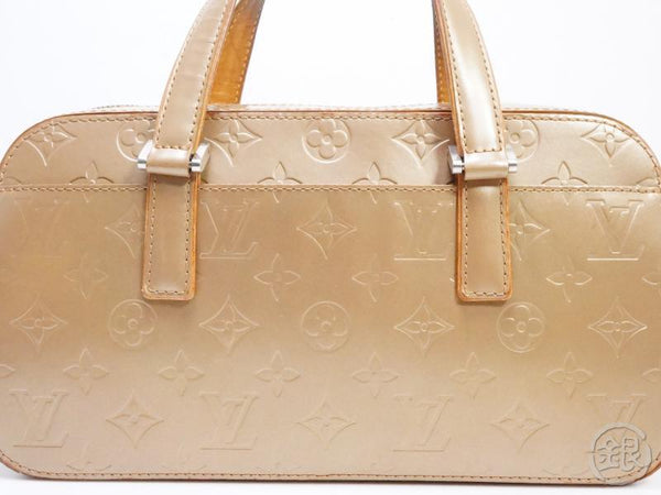 AUTHENTIC PRE-OWNED LOUIS VUITTON MONOGRAM MAT AMBRE AMBER BEIGE SHELTON HAND BAG M55177 190548