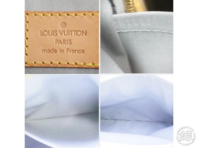 authentic pre-owned louis vuitton vernis perle white summit drive hand tote bag m93514 190718