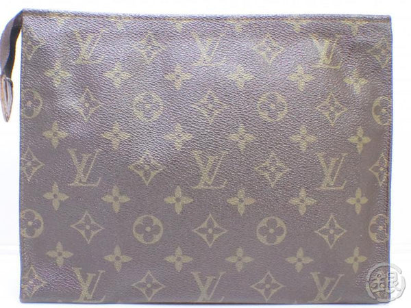 AUTHENTIC PRE-OWNED LOUIS VUITTON MONOGRAM VINTAGE POCHE TOILETTE GM COSMETIC POUCH M47542 190716