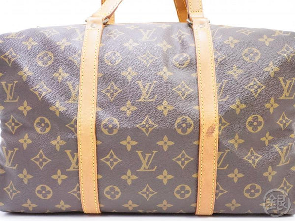 AUTHENTIC PRE-OWNED LOUIS VUITTON VINTAGE MONOGRAM SAC SOUPLE 35 TRAVELING DUFFLE BAG M41626 190571