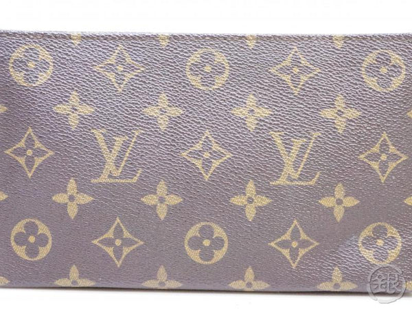 AUTHENTIC PRE-OWNED LOUIS VUITTON VINTAGE MONOGRAM POCHETTE COMPACT-TOUR POUCH BAG M51970 190812