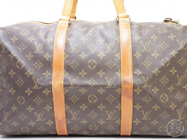 AUTHENTIC PRE-OWNED LOUIS VUITTON VINTAGE MONOGRAM SAC SOUPLE 45 TRAVELING DUFFLE BAG M41624 190419