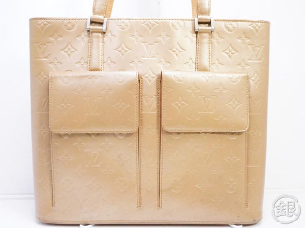 AUTHENTIC PRE-OWNED LOUIS VUITTON MONOGRAM MAT AMBRE WILLWOOD SHOULDER TOTE BAG M55107 190856