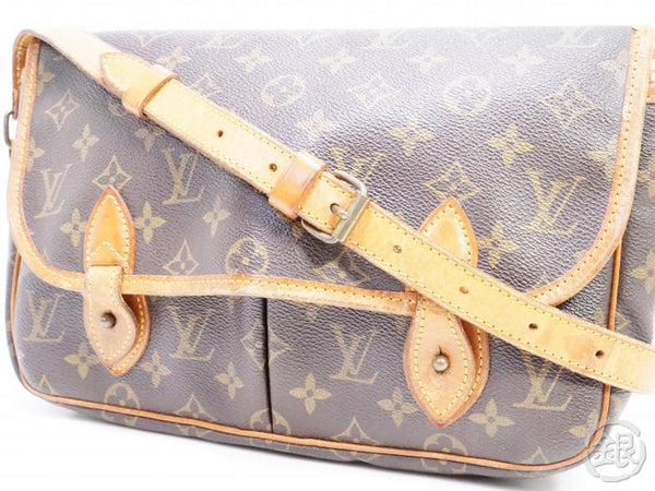 AUTHENTIC PRE-OWNED LOUIS VUITTON MONOGRAM SAC GIBECIERE MM CROSSBODY MESSENGER BAG M42247 190494