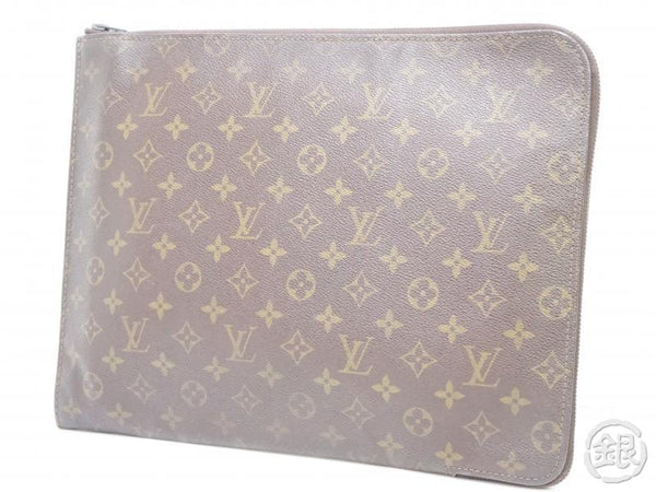 AUTHENTIC PRE-OWNED LOUIS VUITTON VINTAGE MONOGRAM POCHE DOCUMENTS PORTFOLIO GM CASE M53456 190782