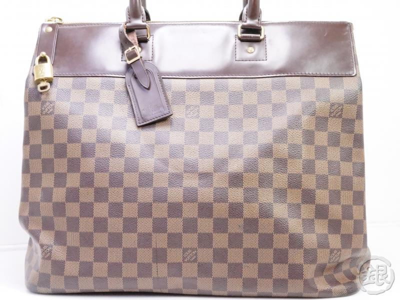 AUTHENTIC PRE-OWNED LOUIS VUITTON DAMIER EBENE GREENWICH PM DUFFLE BAG TRAVEL LUGGAGE N41165 171002