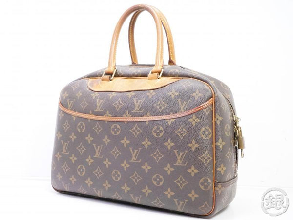AUTHENTIC PRE-OWNED LOUIS VUITTON MONOGRAM DEAUVILLE COSMETIC CASE HAND BAG M47270 190925