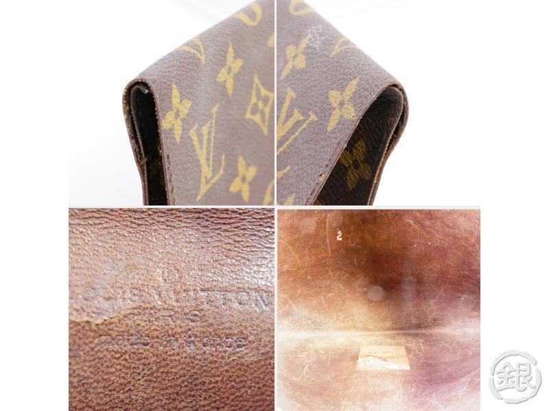 AUTHENTIC PRE-OWNED LOUIS VUITTON VINTAGE MONOGRAM POCHES PLATES 30 DOCUMENT CASE No.49 190934