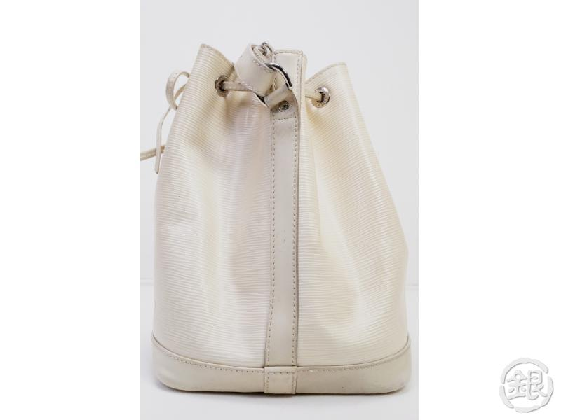 AUTHENTIC PRE-OWNED LOUIS VUITTON EPI IVOIRE IVORY PETIT NOE SHOULDER DRAWSTRING BAG M5921J 190891