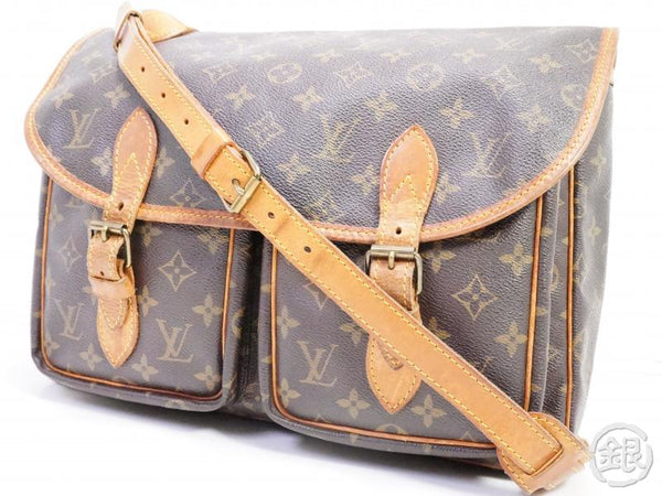 AUTHENTIC PRE-OWNED LOUIS VUITTON LV MONOGRAM VINTAGE SAC BAZAS JAPON MESSENGER BAG M99013 190978