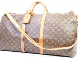 AUTHENTIC PRE-OWNED LOUIS VUITTON MONOGRAM KEEPALL BANDOULIERE 60 2-WAY TRAVEL BAG M41412 190800