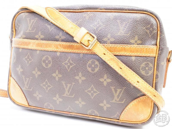 AUTHENTIC PRE-OWNED LOUIS VUITTON MONOGRAM TROCADERO MM CROSSBODY MESSENGER BAG M51274 190986