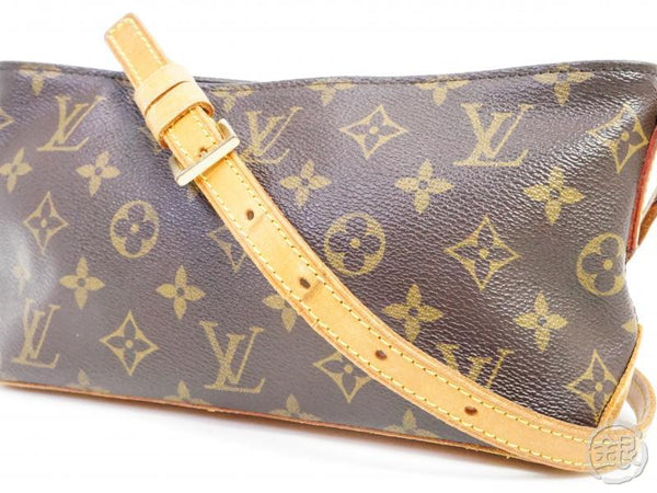 AUTHENTIC PRE-OWNED LOUIS VUITTON LV MONOGRAM TROTTEUR CROSSBODY MESSENGER BAG PURSE M51240 191087