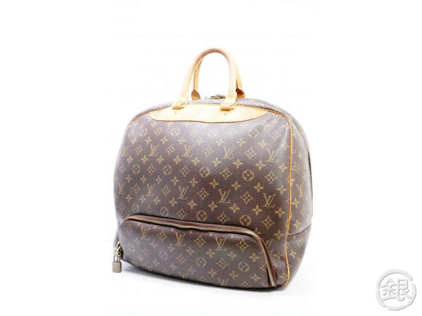 AUTHENTIC PRE-OWNED LOUIS VUITTON MONOGRAM EVASION SPORTS LUGGAGE TRAVELING BAG M41443 190642