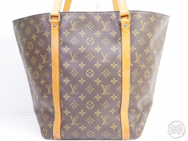 AUTHENTIC PRE-OWNED LOUIS VUITTON MONOGRAM SAC SHOPPING SHOULDER TOTE BAG M51108 191063
