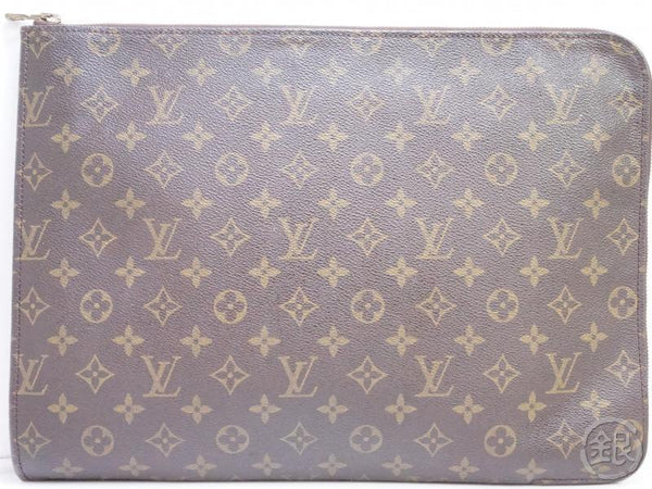 AUTHENTIC PRE-OWNED LOUIS VUITTON MONOGRAM POCHE DOCUMENTS PORTFOLIO GM CASE BAG M53456 190846