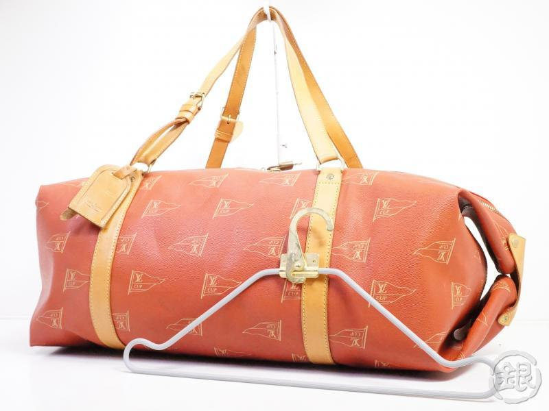 AUTHENTIC PRE-OWNED LOUIS VUITTON CUP '95 SAC CABOURG GARMENT DUFFLE 2-WAY TRAVEL BAG M80020 190619