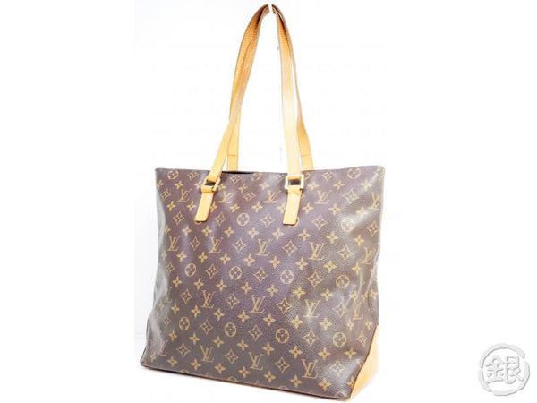 AUTHENTIC PRE-OWNED LOUIS VUITTON MONOGRAM CABAS MEZZO LARGE SHOULDER TOTE BAG M51151 190611
