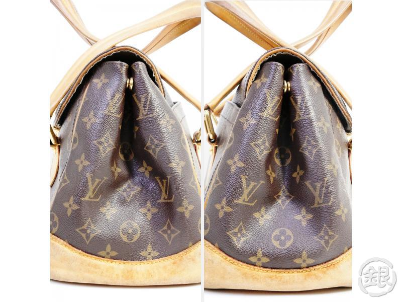 AUTHENTIC PRE-OWNED LOUIS VUITTON MONOGRAM BEVERLY GM SHOULDER DUFFLE BAG PURSE M40120 190635