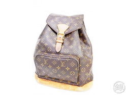 AUTHENTIC PRE-OWNED LOUIS VUITTON MONOGRAM MONTSOURIS GM BACKPACK BAG M51135 190594