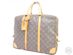 AUTHENTIC PRE-OWNED LOUIS VUITTON VINTAGE MONOGRAM PORTE-DOCUMENTS VOYAGE BAG M53361 No.241 191071
