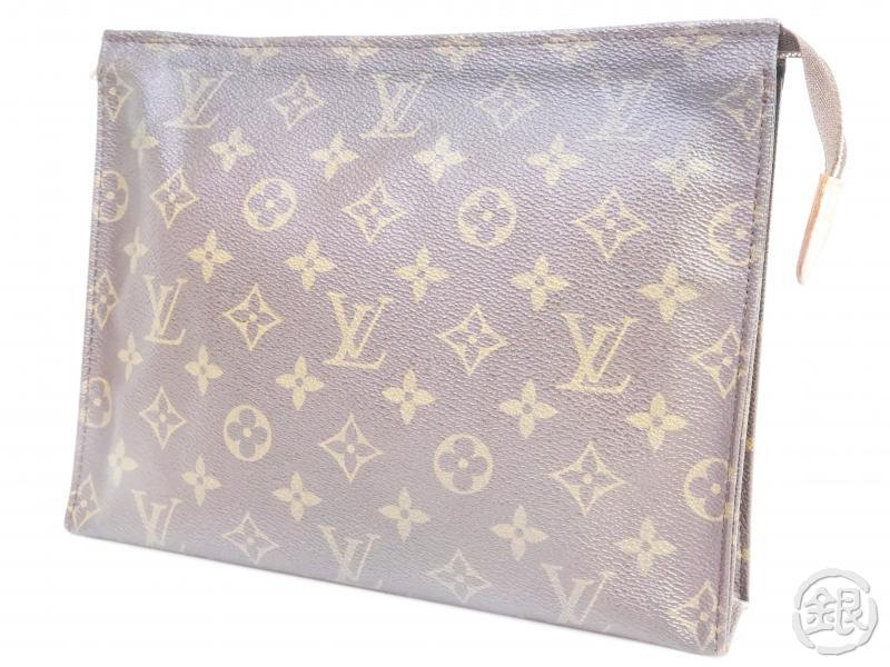 AUTHENTIC PRE-OWNED LOUIS VUITTON MONOGRAM VINTAGE POCHE TOILETTE GM COSMETIC POUCH M47542 181151