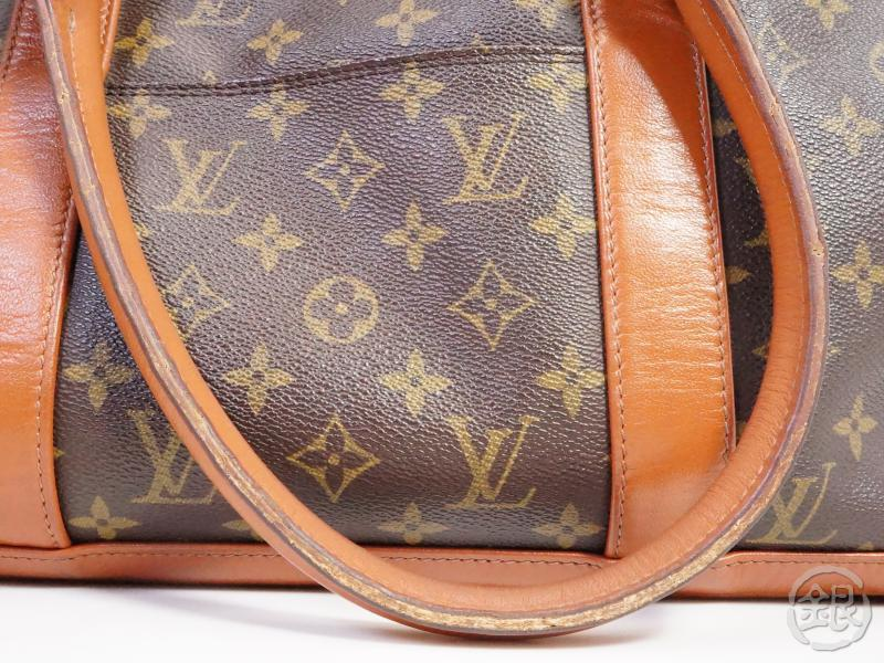 authentic pre-owned louis vuitton vintage monogram sac weekend shoulder tote bag m42425 191148